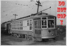 6G292 RP 1946 EASTERN MASS STREET RAILWAY QUINCY BARN CAR #4289 MA