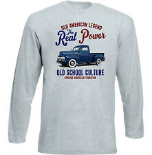 VINTAGE Americano Ford F1 PICK UP-Nuovo T-shirt di cotone