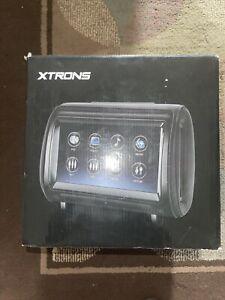 """XTRONS HD Digital Touchscreen Car Headrest HDMI Port 2 x 9""""  1080 Pixel Video"""