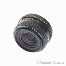 Pentax-A SMC 28mm f2.8 Wide Angle Lens -Clean- (91217-16)
