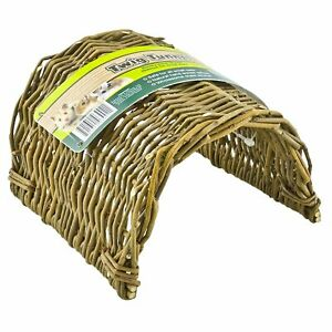 (3 Pack) Ware Manufacturing Large Natural Willow Twig Tunnel for Small Animals