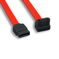 Kentek 3FT SATA Device Cable 26AWG 7Pin Serial ATA 90/180 Degree 3.0 Gbps PC HDD