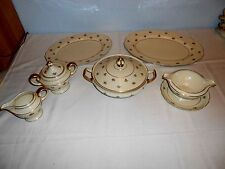 """Continental Ivory ~ Rosenthal """"Rob Roy"""" Serving Dishes (6 Pieces) ~ Excellent"""