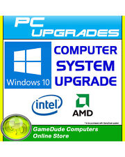 Windows 10 Home  64bit Upgrade for GameDude Computer System *FREE INSTALL*