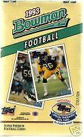 1993 Bowman Football Card Box Jerome Bettis Rookie