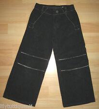 IKKS - Pantalon noir à fines rayures - Taille 5 ans - TBE !!!