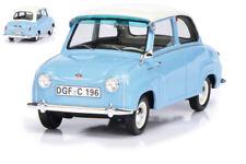 Goggomobil 1955 Light Blue W/white Roof 1:18 Model 0096 SCHUCO