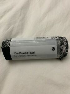 Lululemon The Small Towel *Printed NWT SUCB O/S Cycling Spin Yoga Gym Microfib
