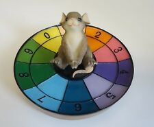 Charming Tails Let'S Play Mouse On Roulette Wheel Casino Gambling Fitz & Floyd