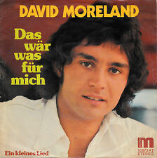"""7"""" Single-David Moreland - this is huge for ME/A Little Song"""