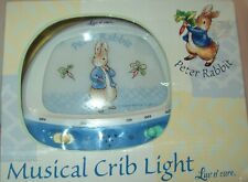 Brand New Beatrix Potter Peter Rabbit Musical Crib Light Made By Luv N Care