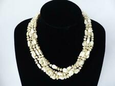 1940's/50's Pearlised Choker Necklace - Vintage Costume Jewellery
