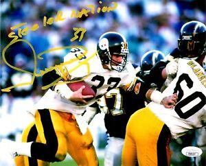 Merrill Hoge autographed signed inscribed 8x10 photo Pittsburgh Steelers JSA COA