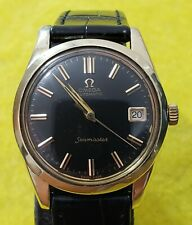 Vintage omega seamaster gold & steel automatic cal 562 ref 166.012