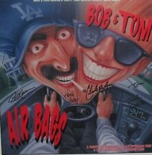 Bob & Tom Signed Autographed Air Bags Poster 1994 Q95, Kristi Lee, Mark Patrick