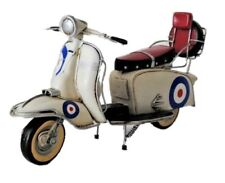 Tin Plate Model 1966 lambretta 200sx Special Ornament with target livery