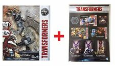 TRANSFORMERS MV5 THE LAST KNIGHT LEADER DRAGONSTORM + TF STICKERS