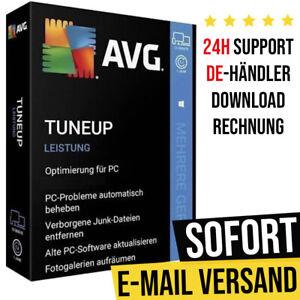 AVG TuneUp 2021 | 1PC, 3PC, 10PC - Geräte | 1 Jahr, 2 Jahre | Vollversion