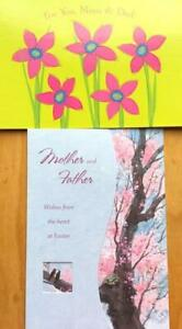 PARENTS Easter Card PAPYRUS or MARIAN HEATH For Mother & Father