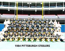 1984 PITTSBURGH STEELERS 8X10 TEAM PHOTO NFL FOOTBALL PICTURE