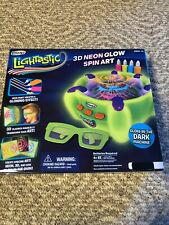 Brand New RoseArt Lightastic 3D Neon Glow Spin Art