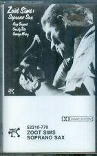 ZOOT SIMS  -  Soprano Sax  -  New Sealed Pablo Cassette
