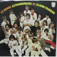 """CLAUDE FRANÇOIS- LP """"Le monde extraordinaire""""rééd.vinyl 2012 limitée-neuf scellé"""