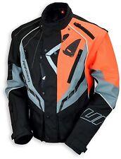 UFO 2018 Ranger MX Enduro Jacket - Black Grey Orange - Large