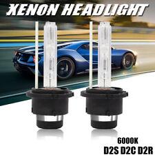 2x D2S 35W 6000K HID Xenon Replacement Low/High Beam Headlight Lamp Bulbs White
