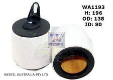 WESFIL AIR FILTER FOR BMW 118i 2.0L, 120i 2.0L 2004-on WA1193