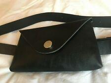Waist Belt/ Black Bum Bag