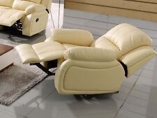 Leder Fernsehsessel Relaxsessel Fernseh-Sessel Schlaffunktion 5129-1-317