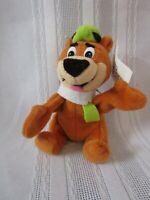 CARTOON NETWORK 1997 Yogi Bear Plush Bean Bag Keychain Hanna Barbera *SHIPS FREE