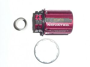 Novatec B2 Shimano11 6 pawl alloy freehub for F482,AS522,D772,D882,D792+more .