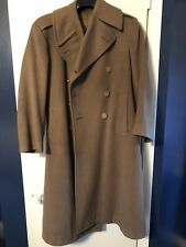 VINTAGE WWII UNIFORM WOOL OVERCOAT US ARMY AIR CORPS FORCE 1942 LONDON TAILORED