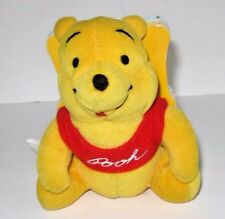 PLUSH WINNIE THE POOH & Friends Doll & attached BOOK Disney toys