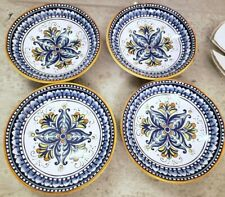 Williams Sonoma Mediterranean soup Bowls Deruta Italy