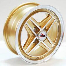 4 LLANTAS/WHEEL/CERCHI TARGA 13x5 4x98 ET +20 ORO/GOLD