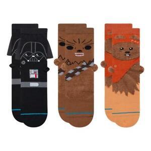 Stance 3D Pack Socks - Multi - Large NEW