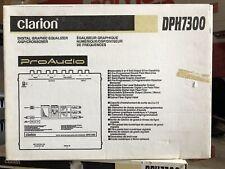 New Old School Clarion DPH7300 Digital Graphic EQ /DSP/ Crossover,Rare,NOS,NIB