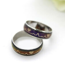 1 Pcs New Hot Mood Ring Changing Color Ring Crystal Jewelry Gifts