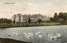 WELBECK ABBEY Nottinghamshire 1914 Original Postcard (HCAR)