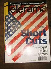 Télérama N° 2295 1994 Short Cuts Altman Shlomo Mintz Greenaway Ben Jelloum TV