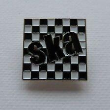Metal Enamel Pin Badge Brooch SKA Square Music Dance Jazz Rythm Blues Reggae