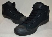 Converse Men's Chuck Taylor High Street Black Hi-Top Sneakers-Assorted Sizes NWB