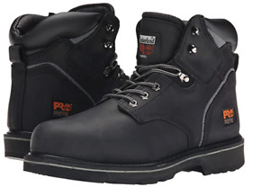 TIMBERLAND TB033032001W PIT BOSS Mn`s (M) Black Nubuck/Leather Work Boots