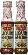 Bundle - 2 Items Colgin Gourmet Liquid Smoke - Natural Mesquite and Natural H...