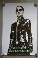 Matrix Movie Original 1999 Large Cinema Poster Trinity Carrie Ann Moss