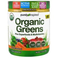 PURELY INSPIRED - ORGANIC GREENS + SUPERFOODS MULTIVITAMINS & PROBIOTICS - VEGAN