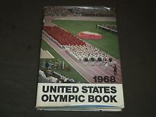 1968 UNITED STATES OLYMPIC HARDCOVER BOOK - GREAT PHOTOS - KD 3596